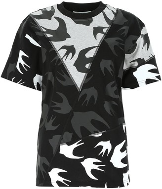McQ Swallow Panelled T-Shirt