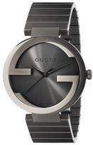 Gucci Interlocking G Grey PVD Watch