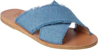 Ancient Greek Sandals Thais Denim Sandal
