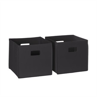 RiverRidge Home RiverRidge 2 Pc Folding Storage Bin Set - Navy