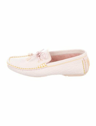 Louis Vuitton Leather Loafers Pink