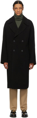 J.W.Anderson Black Double Breasted Coat