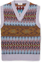 Acne Studios - Slim-Fit Fair Isle Knitted Sweater Vest