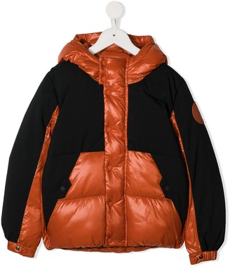 Save The Duck Kids Colour-Block Padded Jacket