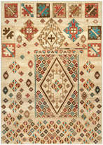nuLoom Beige Diamond Sketch Rug