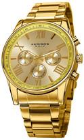 Akribos XXIV Men's Swiss Quartz Multi-Function Bracelet Watch