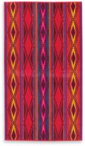Pendleton River Oversized Jacquard Beach Towel in Red