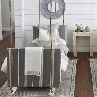 Imagine Home Twin Daybed Color: Gray Pinstripe
