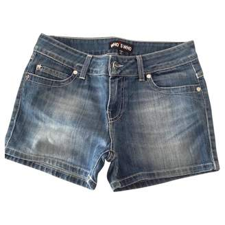 Who*s Who Blue Denim - Jeans Shorts for Women