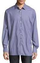 Eton Gingham Cotton Button-Down Shirt