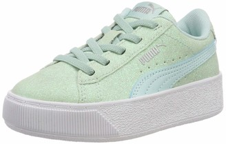 Puma Girls Vikky Platform Glitz AC PS Low-Top Sneakers