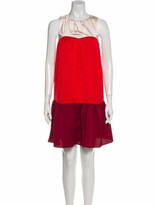 Thumbnail for your product : Paper London Crew Neck Mini Dress Red Crew Neck Mini Dress