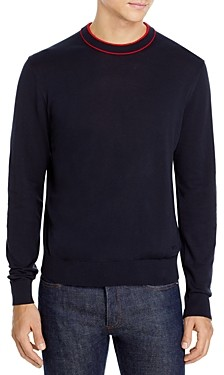 Paul Smith Ribbed Trim Sweater