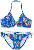 Ralph Lauren 2-Pc. Floral-Print Swimsuit, Big Girls (7-16)