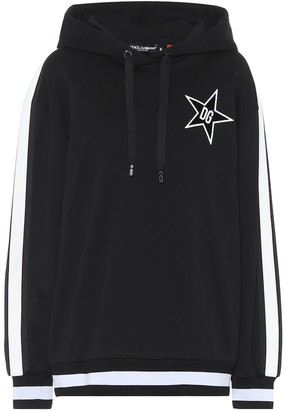 Dolce & Gabbana Millennials Star cotton hoodie