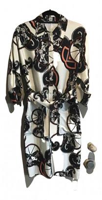 Hermes Ecru Silk Dresses