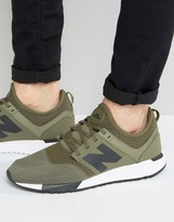 New Balance Sport Pack 247 Trainers In Green