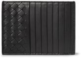 Bottega Veneta Intrecciato Leather Cardholder - Black
