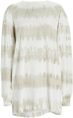 Christina Lehr Dean Tie-Dye T-Shirt Dress
