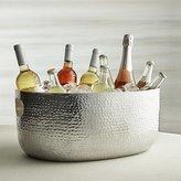 Crate & Barrel Bash Silver Beverage Tub