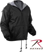 Rothco Reversible Lined Jacket With Hood, - 2X Large