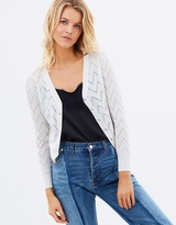 Privilege Finely Knitted Cardigan