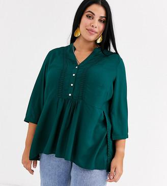Junarose button front blouse