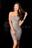Scala 48623 Dress In Platinum