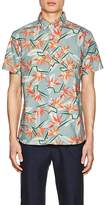 Saturdays NYC Men's Esquina Paradise Poplin Shirt