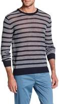 Perry Ellis Striped Crew Tee