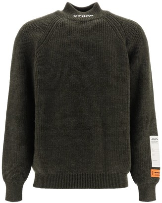 Heron Preston Logo Turtleneck Sweater
