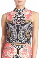 MinkPink Paisley Picture Top