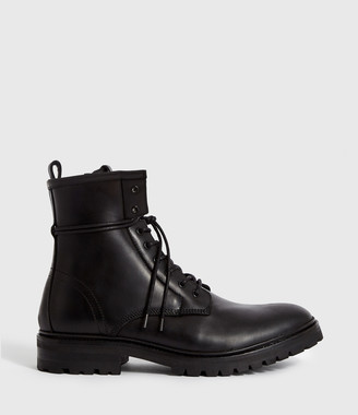 AllSaints Olin Leather Boots