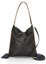 Rebecca Minkoff Chase Convertible Leather Hobo - Black