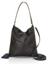 Rebecca Minkoff Chase Convertible Leather Hobo - Black