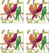 Cala Home Flock Together Square Coasters (Set of 4)