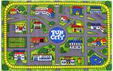 Sunny Rugs Fun City Road Map Kids Rug
