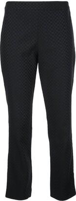 Natori Jacquard Cropped Trousers