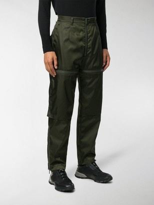 Prada Technical Zipped Trousers