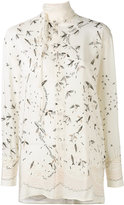 Valentino Swallow Metamorphosis blouse - women - Silk - 40