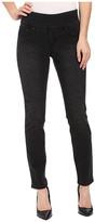 Jag Jeans Lanna Pull-On Slim Patterned Denim in Tiger Black