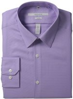Perry Ellis Men's Portfolio Two Color Twill Dress Shirt