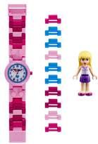 Lego R) 29-Piece Friends Stephanie Buildable Water-Resistant Watch & Figurine Set