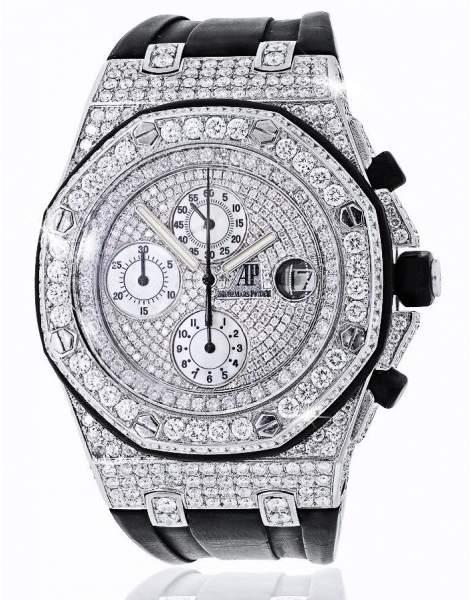 Audemars Piguet Royal Oak Offshore Chronograph Diamonds Watch