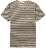 Schiesser Helmut Striped Linen T-Shirt