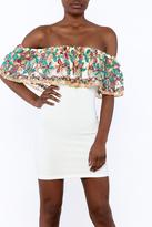 Valentine White Tube Dress