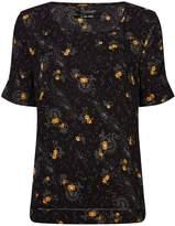 Maison Scotch Star print blouse