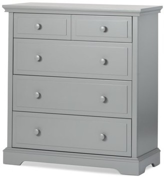 Child Craft Universal Select 4-Drawer Chest in Cool Gray