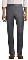 Brooks Brothers Printed Wool Trousers