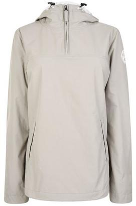 Napapijri Quarter Zip Hooded Jacket